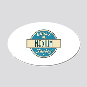 Official Medium Fanboy 22x14 Oval Wall Peel