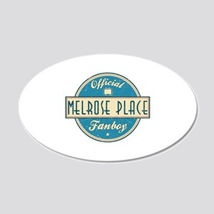 Official Melrose Place Fanboy 22x14 Oval Wall Peel