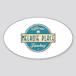 Official Melrose Place Fanboy Oval Sticker