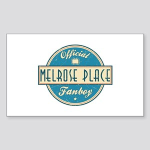 Official Melrose Place Fanboy Rectangle Sticker