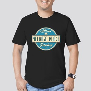 Official Melrose Place Fanboy Men's Dark Fitted T-