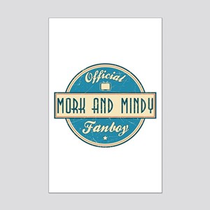 Official Mork and Mindy Fanboy Mini Poster Print