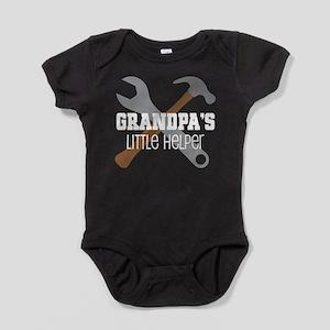 Grandpa's Little Helper Baby Bodysuit