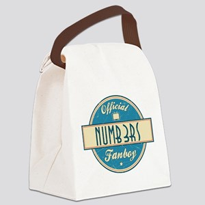 Official Numb3rs Fanboy Canvas Lunch Bag