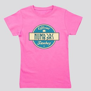 Official Numb3rs Fanboy Girl's Dark Tee