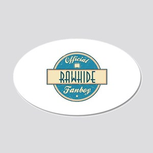 Official Rawhide Fanboy 22x14 Oval Wall Peel