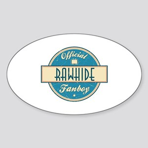 Official Rawhide Fanboy Oval Sticker