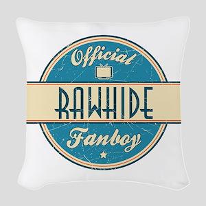 Official Rawhide Fanboy Woven Throw Pillow