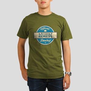 Official Rawhide Fanboy Organic Men's Dark T-Shirt