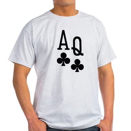 Ace Queen Poker Light T-Shirt