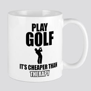 golf is my therapy Mug
