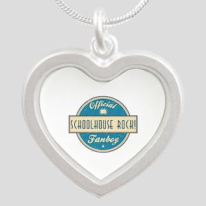 Official Schoolhouse Rock! Fanboy Silver Heart Nec