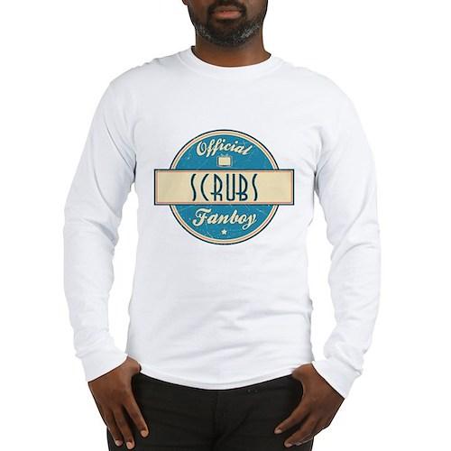 Official Scrubs Fanboy Long Sleeve T-Shirt