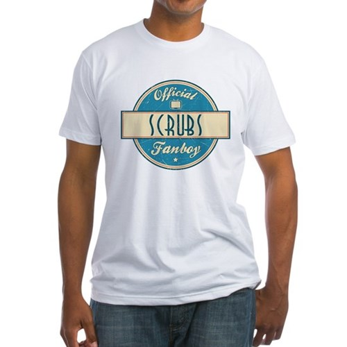 Official Scrubs Fanboy Fitted T-Shirt