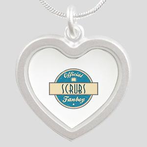 Official Scrubs Fanboy Silver Heart Necklace