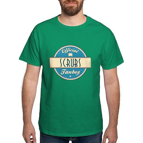 Official Scrubs Fanboy Dark T-Shirt