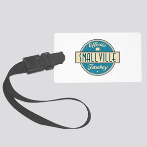 Official Smallville Fanboy Large Luggage Tag