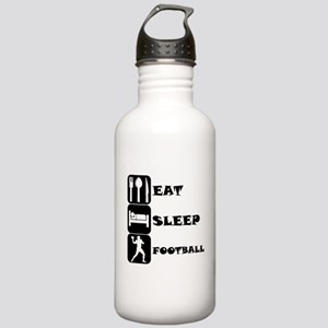Eat Sleep Football (Quarterback) Water Bottle
