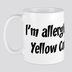 Allergic to Yellow Corn Mug