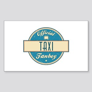 Official Taxi Fanboy Rectangle Sticker