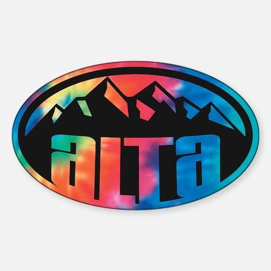Alta Utah Sticker (Oval)