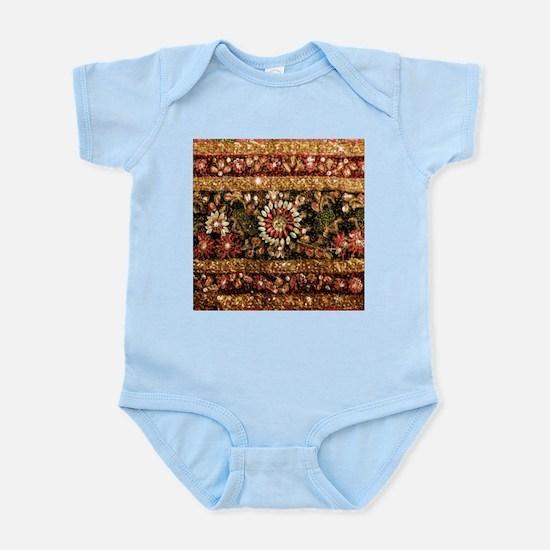 Beaded Indian Saree Photo Infant Bodysuit