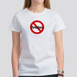 Anti Tomatoes Women's T-Shirt