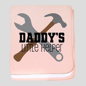 Daddy's Little Helper baby blanket