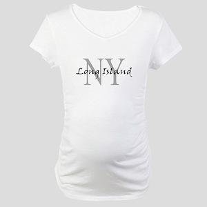 Long Island thru NY Maternity T-Shirt