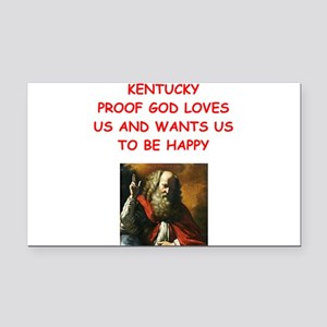 kentucky Rectangle Car Magnet