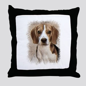 Hound Beagle Throw Pillow