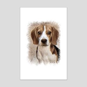 Hound Beagle Mini Poster Print