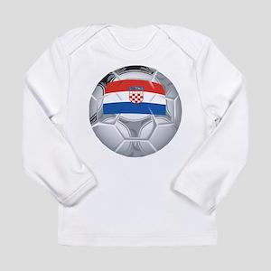 Croatia Footbal Long Sleeve T-Shirt