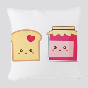 Cute Toast and Strawberry Jam, Spread Love Woven T