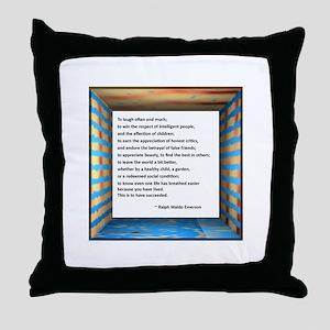 The Nature of Success Throw Pillow
