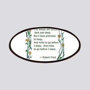Robert Frost Patches