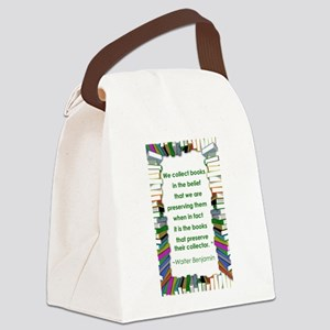 3-walter benjamin Canvas Lunch Bag