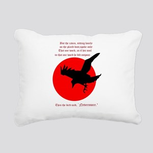 Nevermore Rectangular Canvas Pillow