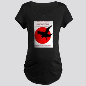 Nevermore Maternity Dark T-Shirt