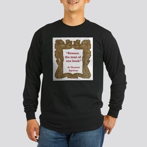 man of one book Long Sleeve Dark T-Shirt