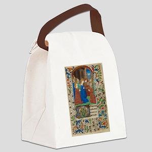 illumunated manuscript Canvas Lunch Bag