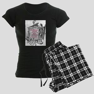 I think Women's Dark Pajamas