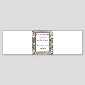 berlin library Sticker (Bumper)
