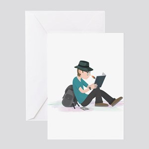 Writer in the Rough Greeting Cards