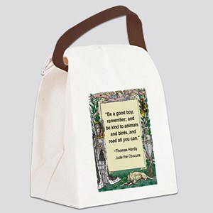 read all you can Canvas Lunch Bag