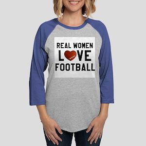 Real Women Love Football Long Sleeve T-Shirt