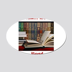 2-read read read.jpg 20x12 Oval Wall Decal