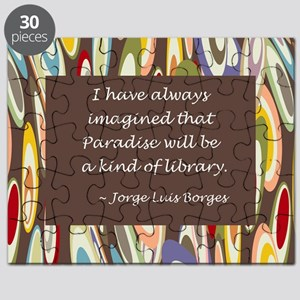 paradise library Borges Puzzle