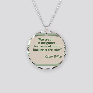 wilde in the gutter Necklace Circle Charm