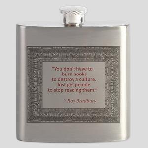 bradbury on books Flask